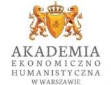 Logo Akademii Ekonomiczno - Humanistycznej w Warszawie