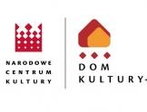 Logo Narodowego Centrum Kultury i logo dom Kultury +